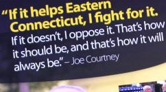 Congressman Joe Courtney Palmcard